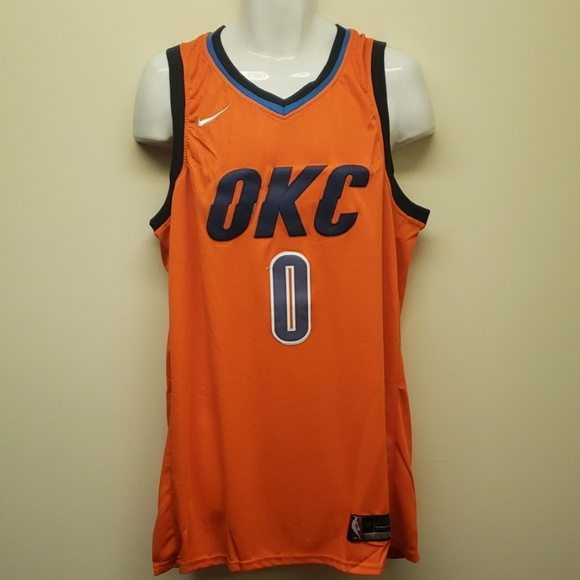 new product 8c525 9abb1 Russell Westbrook Oklahoma City Thunder jersey NWT